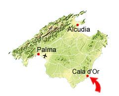 mallorca kart Cala d'Or kart – Mallorca reiseguide